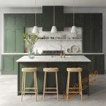 پروژه آماده فضای داخلی آشپزخانه شماره 3