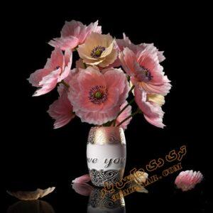 دانلود آبجکت گلدان شماره 1