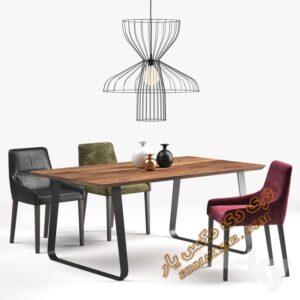 آبجکت میز و صندلی شماره 10