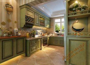 پروژه آماده فضای داخلی آشپزخانه شماره 2