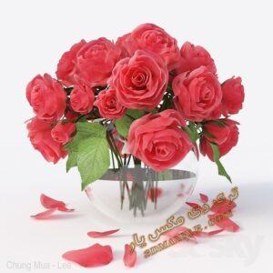 دانلود آبجکت گلدان شماره 3