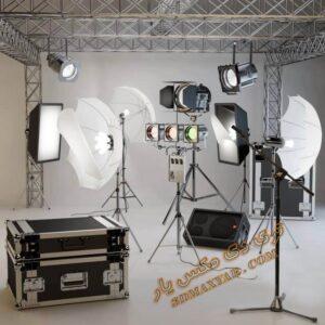 آبجکت تجهیزات عکاسی برای تری دی مکس