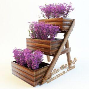 آبجکت گل و گیاهان طبیعی شماره 9