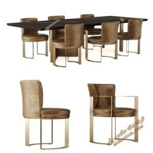 آبجکت میز و صندلی شماره 5