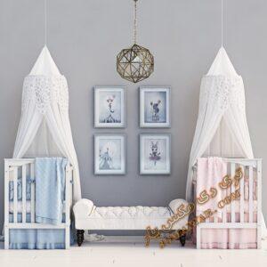 آبجکت تخت خواب کودک شماره 4