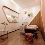پروژه آماده سالن آرایش و زیبایی شماره 5