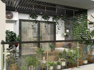 پروژه آماده نمای باغ و تراس برای تری دی مکس شماره 5