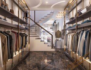 پروژه آماده فروشگاه لباس برای تری دی مکس شماره 1