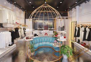پروژه آماده فروشگاه لباس برای تری دی مکس شماره 2