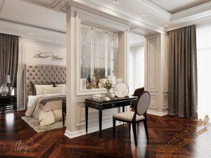 پروژه آماده طراحی اتاق خواب برای تری دی مکس شماره 3