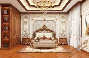 پروژه آماده فضای داخلی اتاق خواب برای تری دی مکس شماره 1
