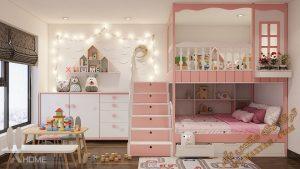 پروژه آماده اتاق کودک برای تری دی مکس شماره 4