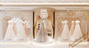 پروژه آماده مزون عروس برای تری دی مکس شماره 1