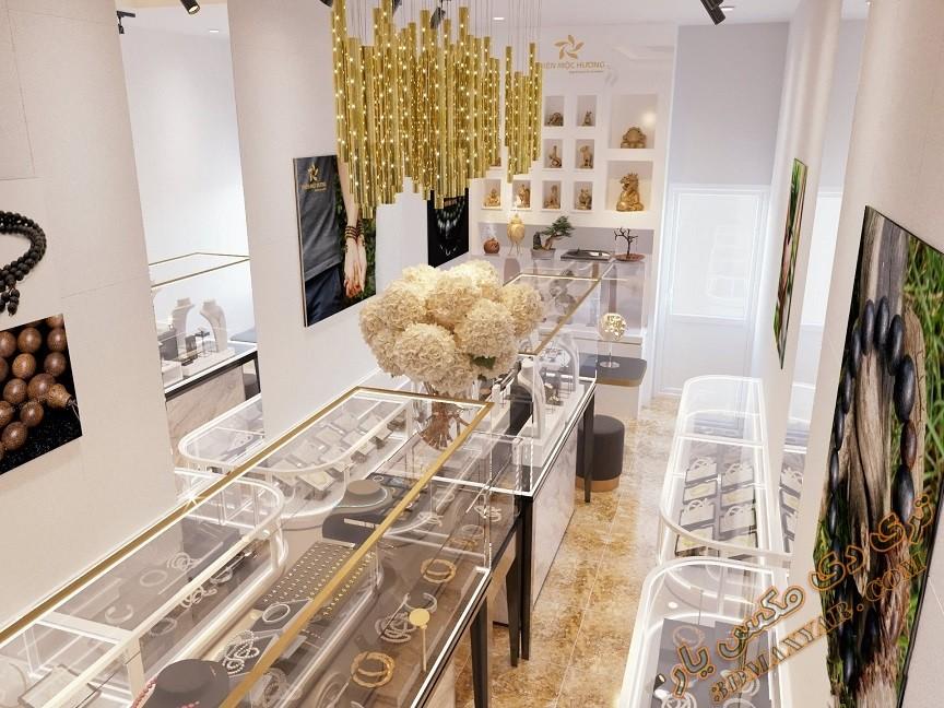 پروژه آماده طراحی فروشگاه جواهرات برای تری دی مکس-3dmaxyar.com