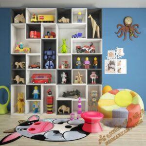 مجموعه آبجکت های آماده  و زیبای عروسک برای تری دی مکس شماره 10
