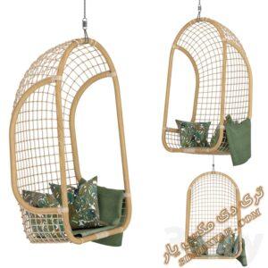 دانلود آبجکت صندلی راحتی برای تری دی مکس شماره 21
