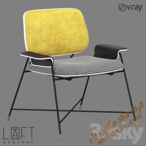 دانلود آبجکت صندلی راحتی برای تری دی مکس شماره 23