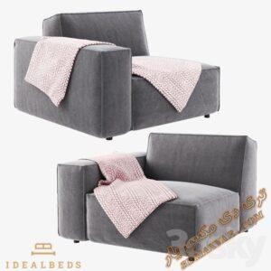 دانلود آبجکت صندلی راحتی برای تری دی مکس شماره 22