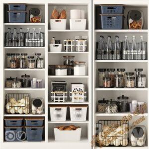 آبجکت اکسسوری آشپزخانه برای تری دی مکس شماره 14