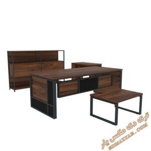 دانلود آبجکت میز و صندلی اداری برای تری دی مکس شماره 11