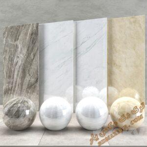 دانلود تکسچر و متریال سنگ برای تری دی مکس شماره 10