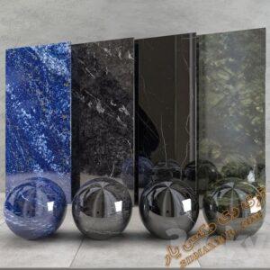دانلود تکسچر و متریال سنگ برای تری دی مکس شماره 7