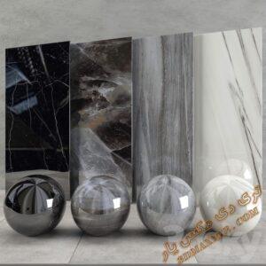 دانلود تکسچر و متریال سنگ برای تری دی مکس شماره 8
