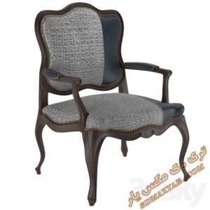 دانلود آبجکت آماده صندلی برای تری دی مکس شماره 25