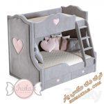 آبجکت تخت خواب کودک برای تری دی مکس شماره 8