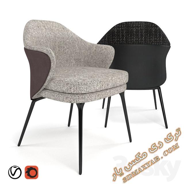 دانلود آبجکت صندلی برای تری دی مکس - 3dmaxyar.com