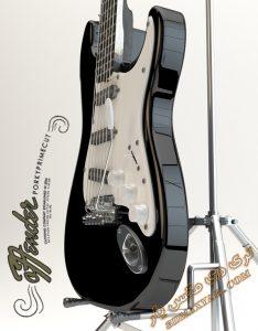 آبجکت آلات موسیقی (گیتار) برای تری دی مکس شماره 8