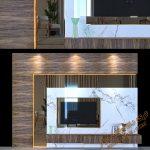 دانلود آبجکت میز TV مدرن برای تری دی مکس شماره 14