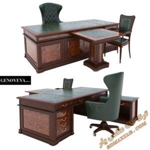 دانلود آبجکت میز و صندلی اداری برای تری دی مکس شماره 18