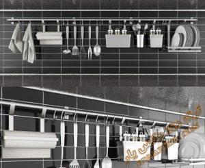 آبجکت اکسسوری آشپزخانه برای تری دی مکس شماره 12