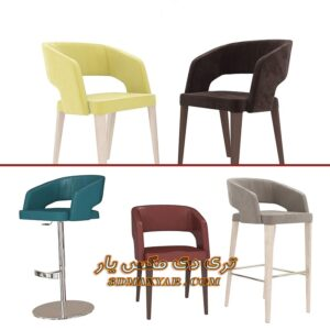 آبجکت تجهیزات بار (صندلی پایه بلند) برای تری دی مکس شماره 6
