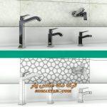 آبجکت شیر آلات حمام و سرویس بهداشتی برای تری دی مکس شماره 37