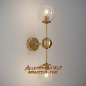 آبجکت دیوارکوب برای تری دی مکس شماره 24