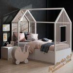 آبجکت تخت خواب کودک برای تری دی مکس شماره 19
