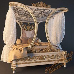آبجکت آماده تخت خواب کلاسیک برای تری دی مکس شماره 38
