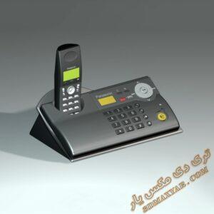 دانلود آبجکت لوازم الکترونیکی (تلفن) برای تری دی مکس شماره 18