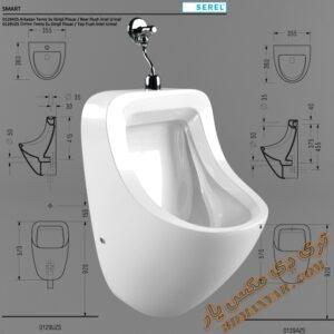 آبجکت توالت فرنگی برای تری دی مکس شماره 12