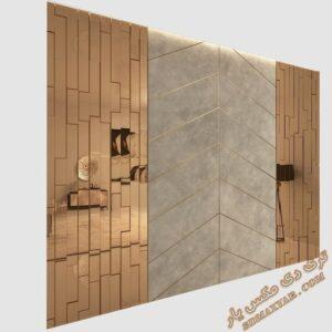 دانلود آبجکت پنل دکوراتیو برای تری دی مکس شماره 11