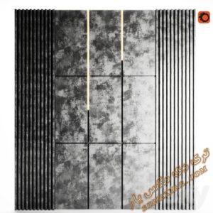 دانلود آبجکت پنل دکوراتیو برای تری دی مکس شماره 7