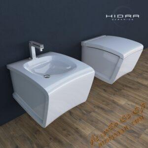 آبجکت توالت فرنگی برای تری دی مکس شماره 10