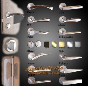 آبجکت دستگیره درب ورودی برای تری دی مکس شماره 22