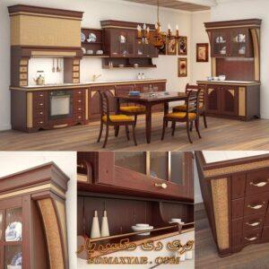 آبجکت کابینت کلاسیک برای تری دی مکس شماره 39