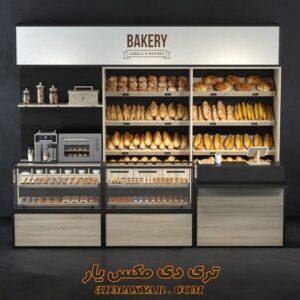 آبجکت لوازم فروشگاهی (نان صنعتی) برای تری دی مکس شماره 12