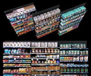 آبجکت لوازم فروشگاهی (سوپرمارکت) برای تری دی مکس شماره 17