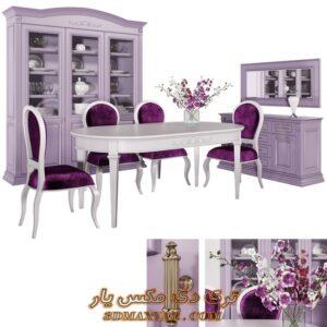 آبجکت میز و صندلی و کمد بوفه برای تری دی مکس شماره 18