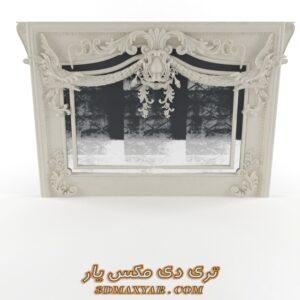 آبجکت گچبری و تزئینات کلاسیک برای تری دی مکس شماره 30